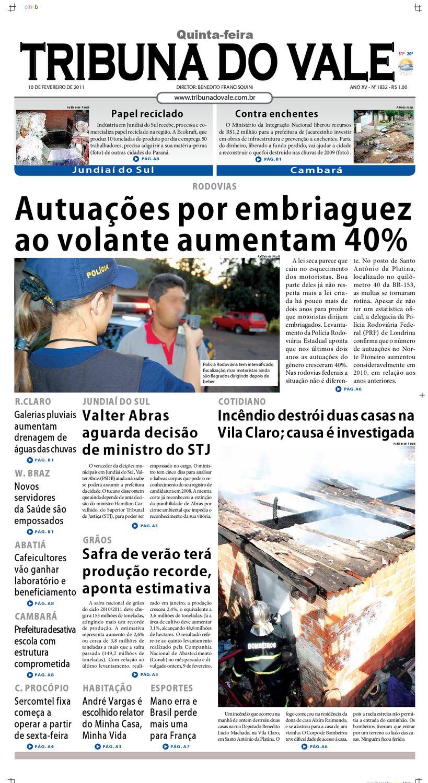 ff2db7653 TRIBUNA DO VALE EDIÇÃO Nº 1832 by Tribuna do Vale - issuu