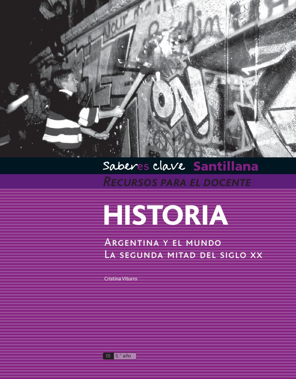 Saberes Clave Santillana Historia By Mar A Candelaria