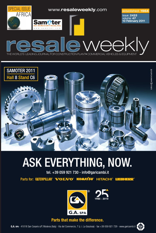 Resale Weekly 2433 by Resale Weekly - issuu