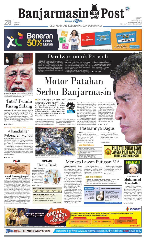 Banjarmasin Post Edisi Jumat 49409eb4af