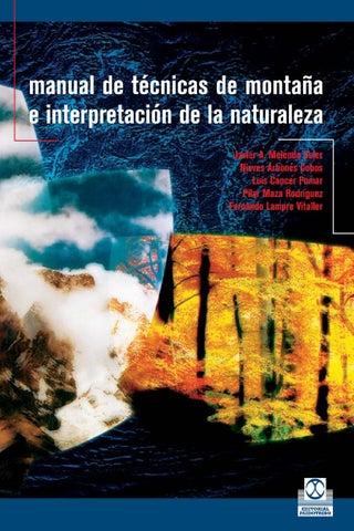 565030eb2d Manual de tecnicas de montaña e interpretacion de la naturaleza by ...