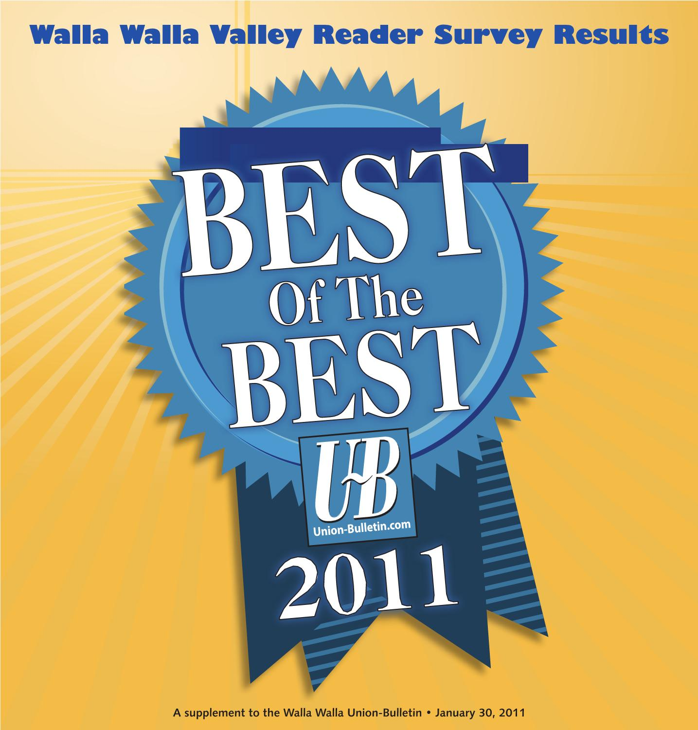 Exceptional Best Of The Best 2011 By Walla Walla Union Bulletin   Issuu