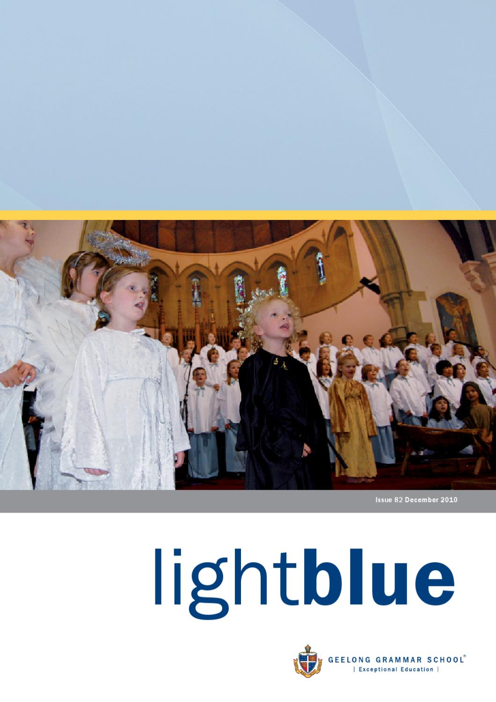 Light Blue Dec 2010 By Geelong Grammar School Issuu Young Loves Physics September