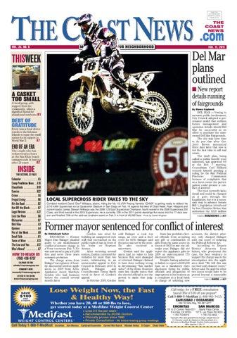 The Coast News, Feb  11, 2011 by Coast News Group - issuu