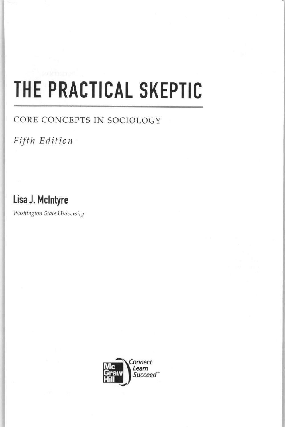 What is a skeptic Definition. Value concepts of skepticism and cynicism 23