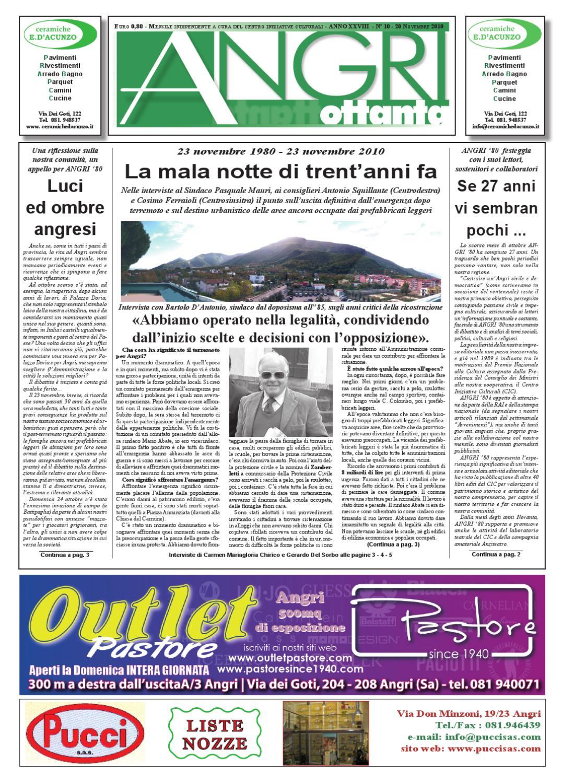 angri 80 - novembre 2010 by fatti parole - issuu - Arredo Bagno Angri