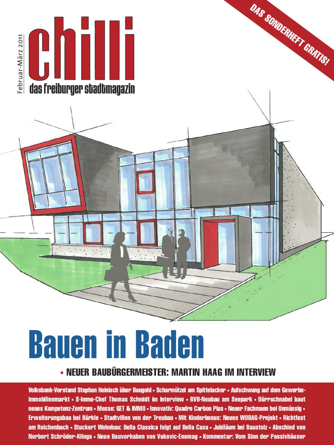 Chilli sonderheft bauen in baden by chilli freiburg gmbh for Bella casa classica gmbh