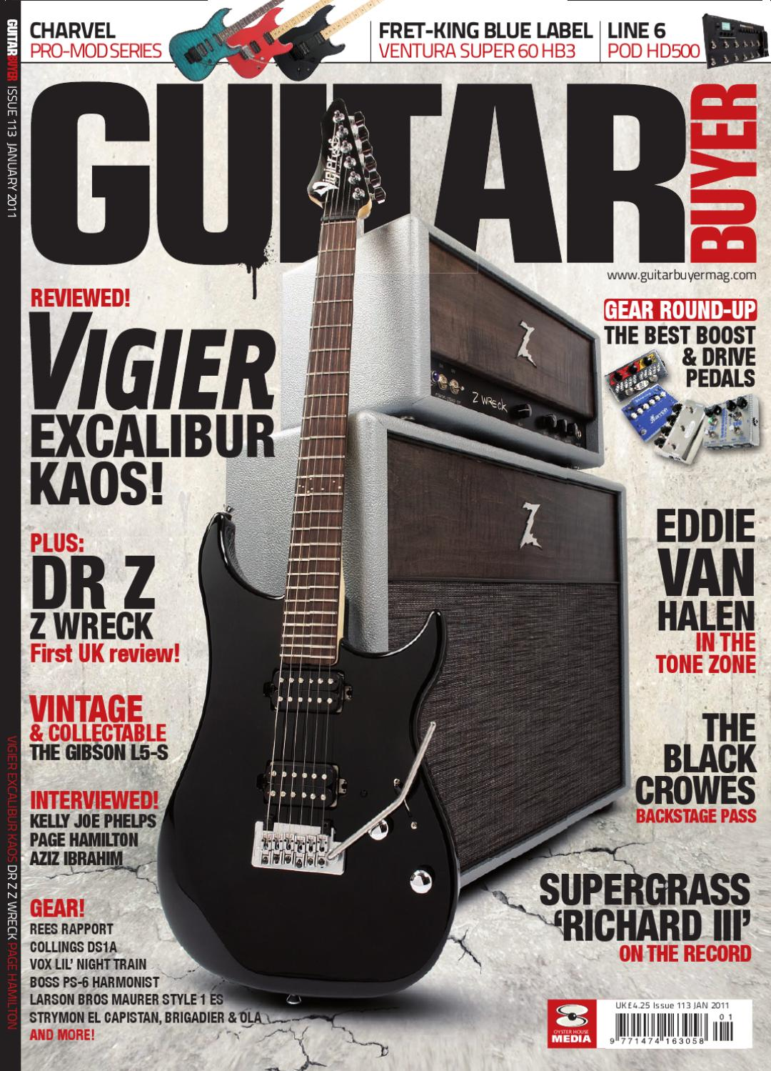 Guitar Buyer Magazine 113 by Oyster House Media - issuu
