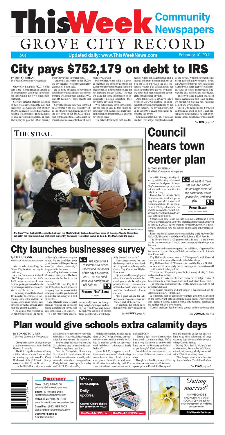 0ee932a8ed9 021011 ThisWeek GroveCity by The Columbus Dispatch - issuu