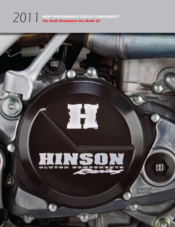 Hinson/Clutch/Components H080 Billet-Proof Clutch Basket