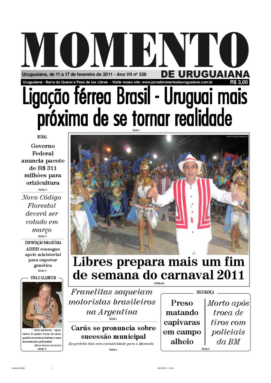 halpaa alennusta paras palvelu ostaa uusia Jornal Momento de Uruguaiana by Lauro Carvalho - issuu