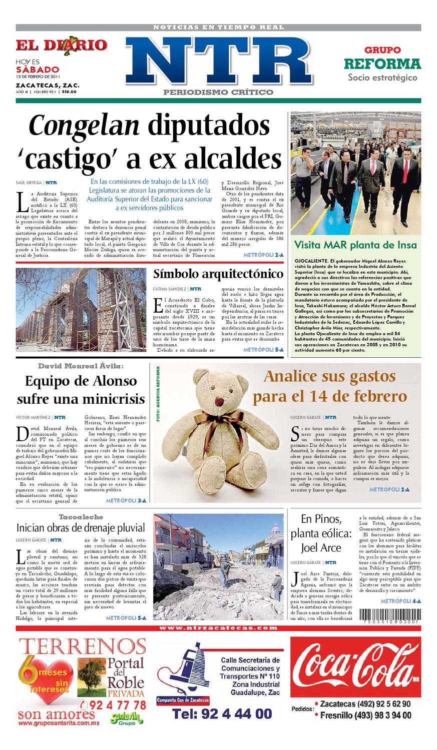 b6ea0351c0 El Diario NTR by NTR Medios de Comunicación - issuu