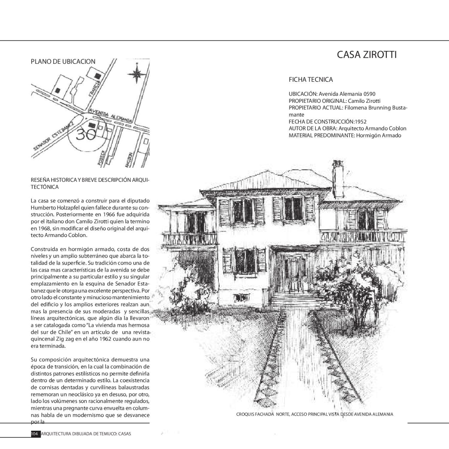 Arquitectura Dibujada By Hugo Riquelme Issuu