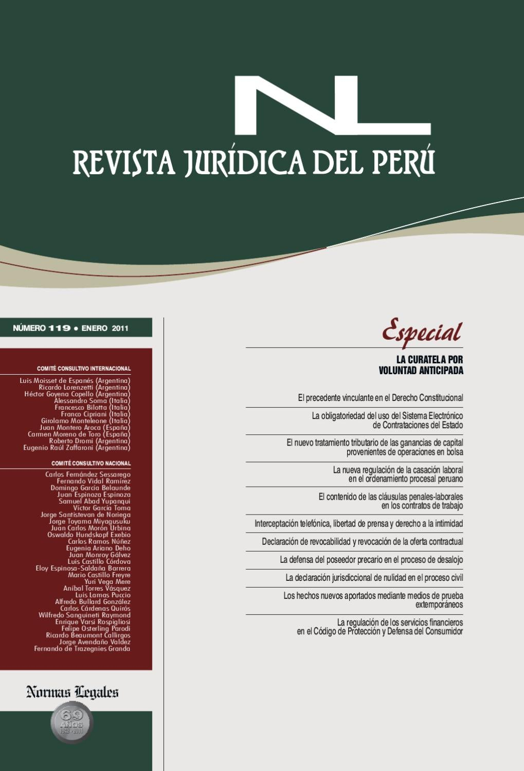 revista jur237dica del per250 by gaceta civil issuu