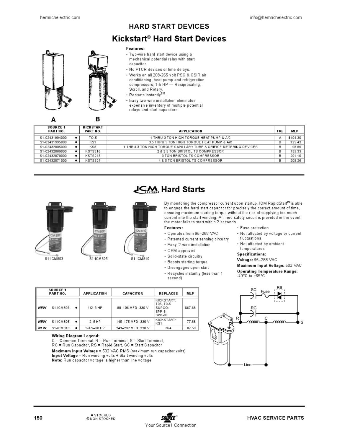 page_151 source1 hvac parts and supply by hemrich electric issuu kick start wiring diagram at fashall.co