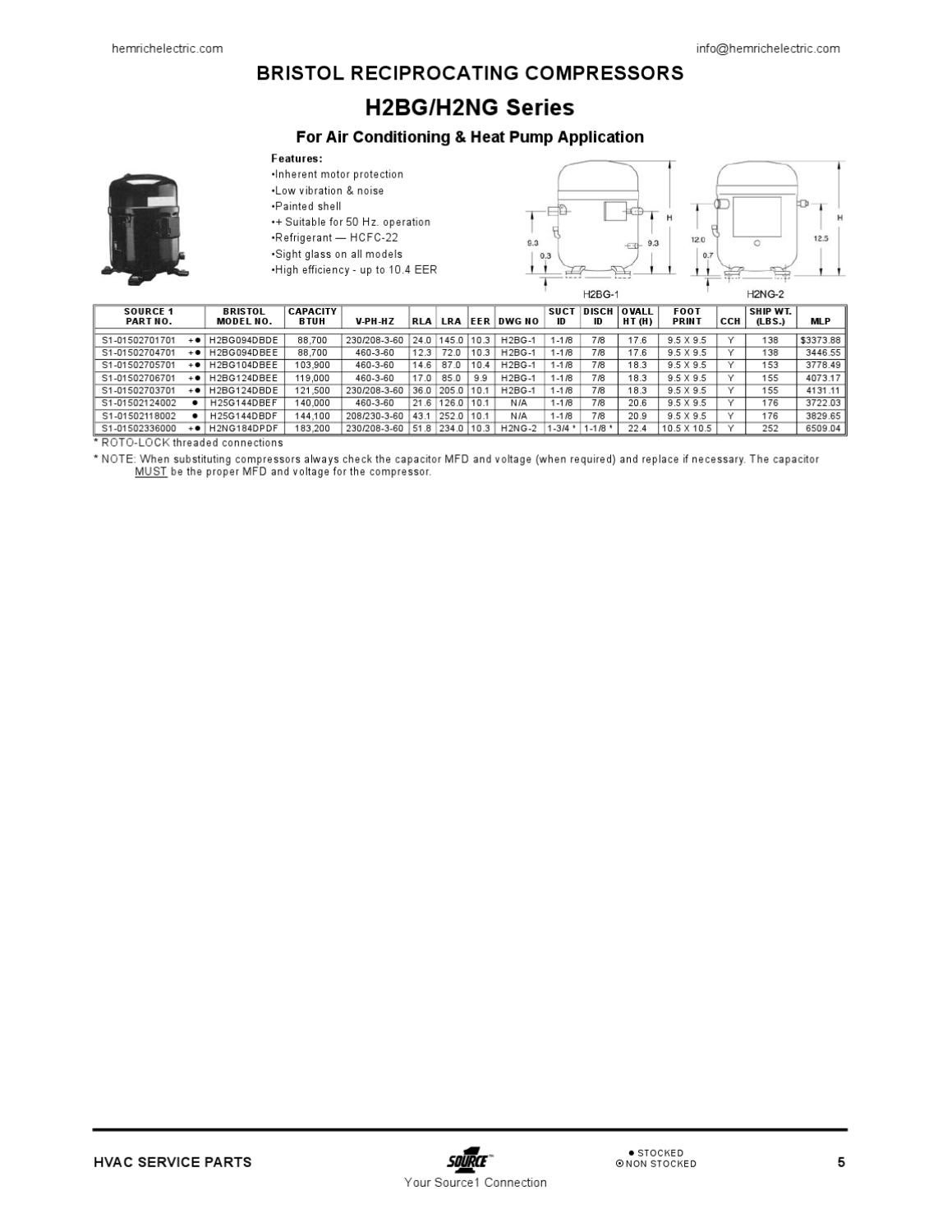 Source1 Hvac Parts And Supply By Hemrich Electric Issuu Drawing Notes