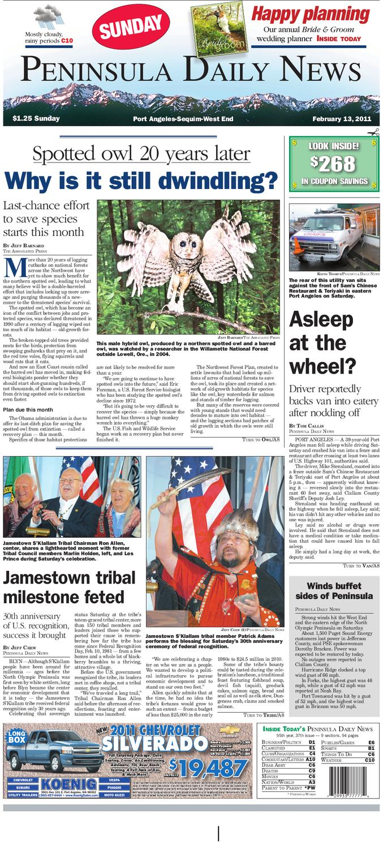 PDN02132011c by Peninsula Daily News & Sequim Gazette - issuu