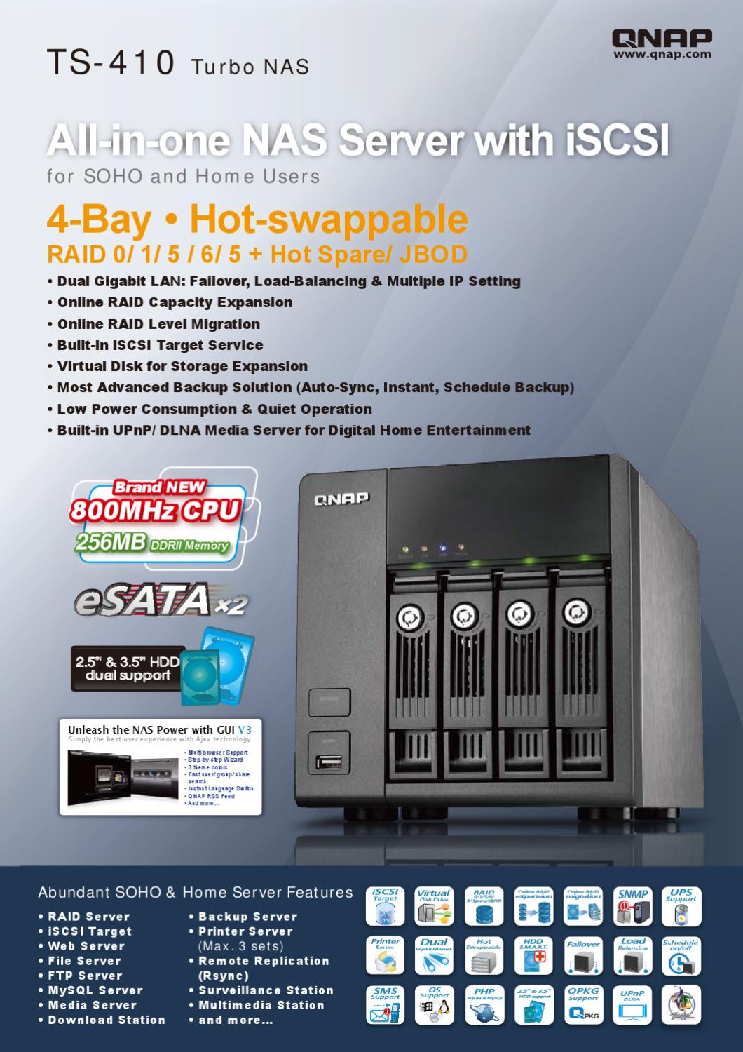 Qnap TS410 by Deltalink - issuu