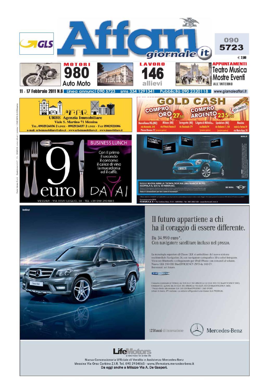 PASTIGLIE Anteriori e Posteriori per Mercedes Classe C Estate C220 CDI 2//2011