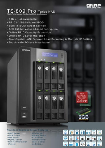 Qnap TS809 by Deltalink - issuu