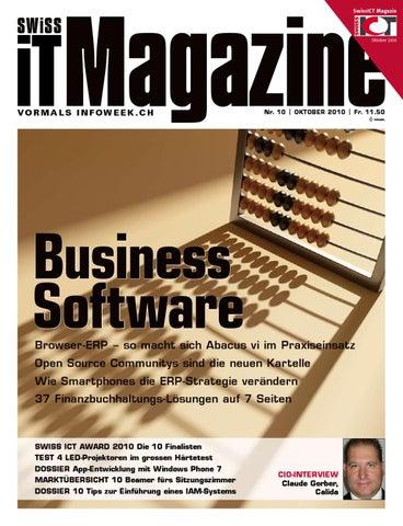 IT Magazine 10 2010 By Swiss Media GmbH