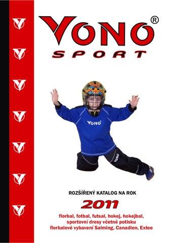 6e0763dc5f6 Sportovní katalog VONO 2011 by vono - issuu