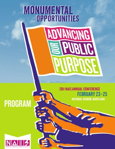Annual conference 2011 program by national association of page 1 fandeluxe Choice Image