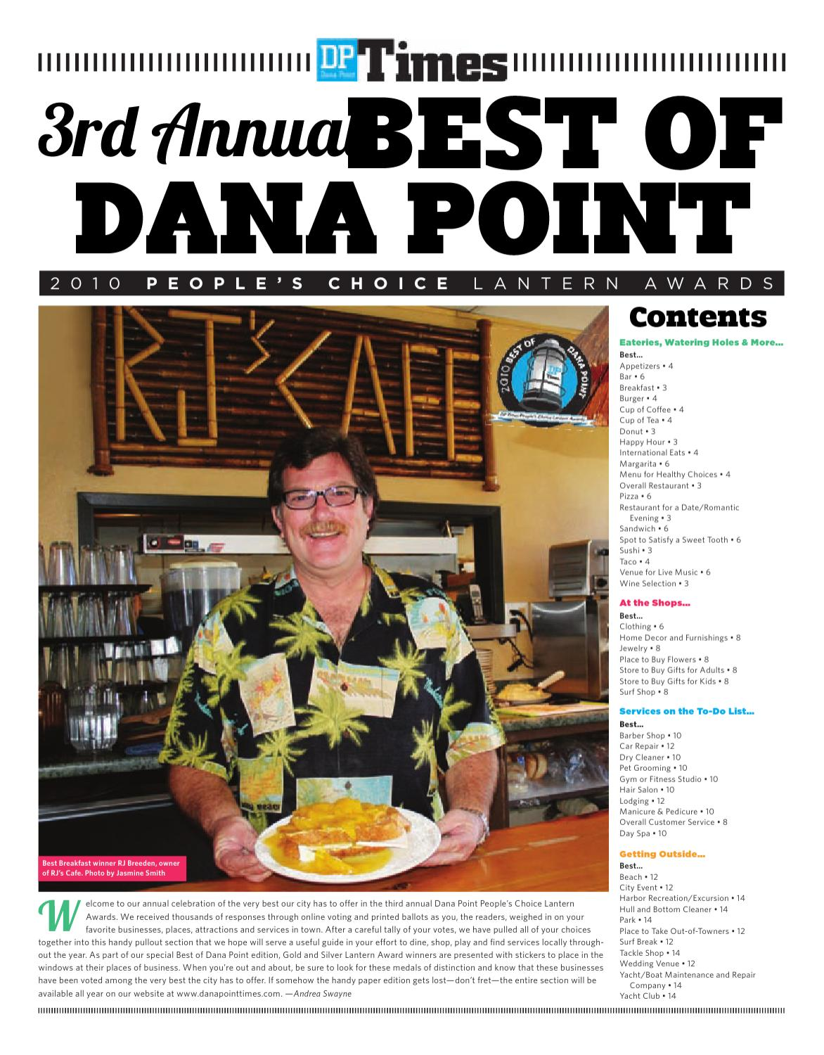 Best of Dana Point 2010 by Dana Point Times - issuu