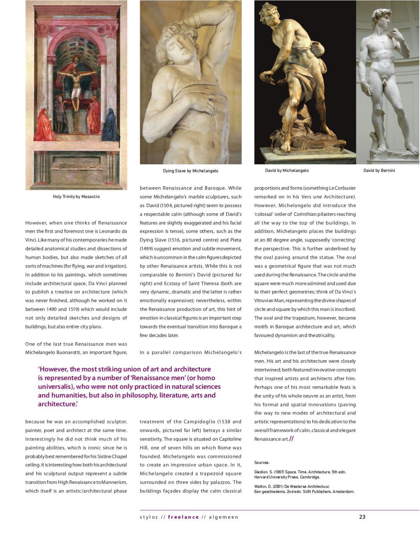 Pantheon 2010 Kunst By Study Association Stylos Issuu