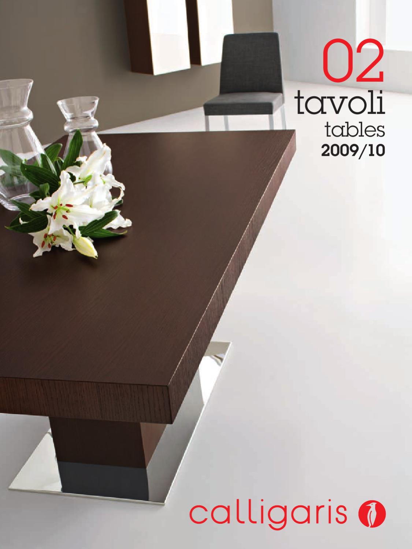 Tavolo Consolle Con Sedie Pieghevoli Calligaris Cs 06 Olivia Pocket.Calligaris Tables By Llc Viva Group Issuu