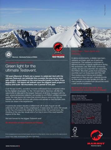Mammut Store Köln mammut summer flyer 2011 (climbing)mammut sports group - issuu