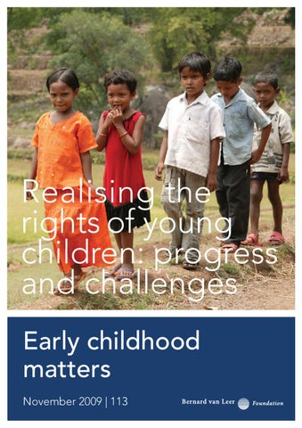 845105666 Realising the rights of young children  progress and challenges by ...