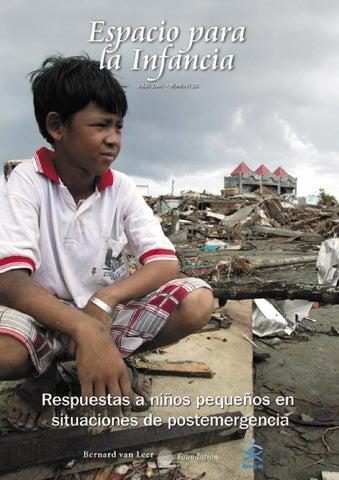 Respuestas a niños pequeños en situationes de postemergencia by ... f09659243eb