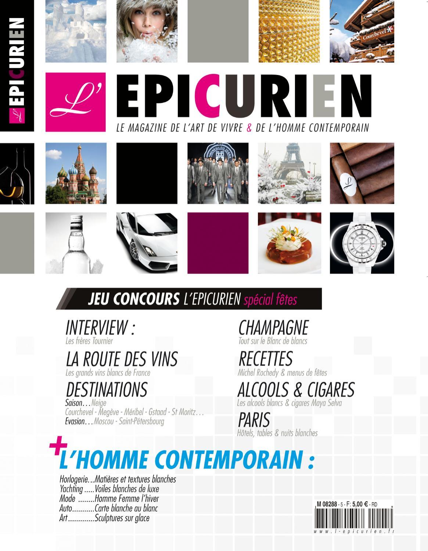 2fa9668b6017 L EPICURIEN magazine 105 by Tony Barusta - issuu