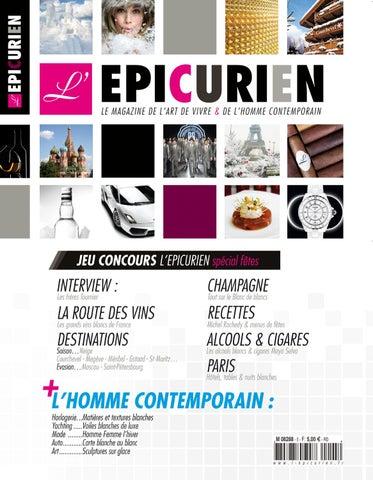 d4023b4ba7f4f1 L EPICURIEN magazine 105 by Tony Barusta - issuu