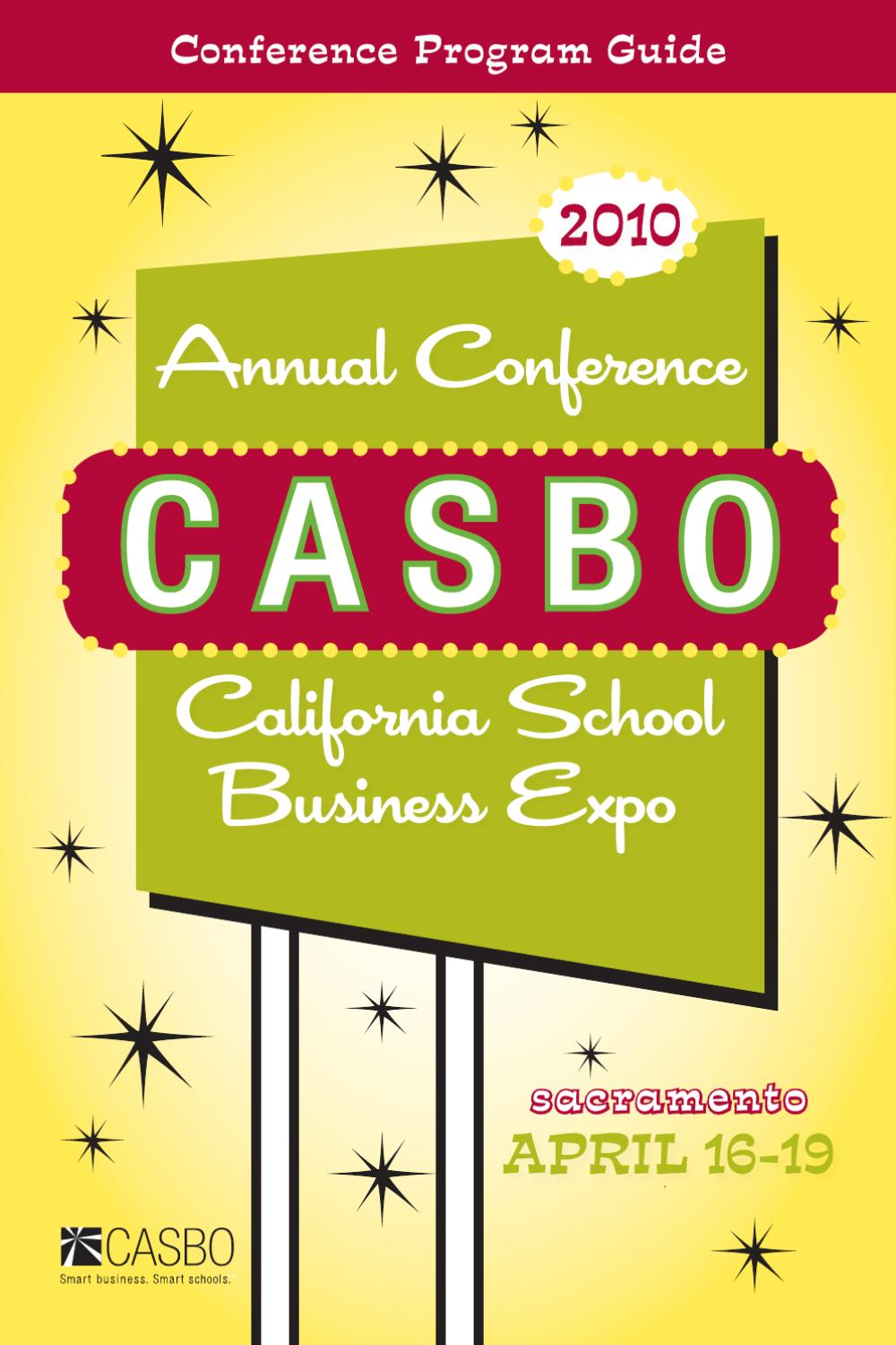 CASBO 2010 Onsite Conference Guide by Association Outsource Services