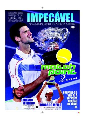 180a1f26881db Jornal Match Point - Fevereiro 2011 by Rafael Medeiros - issuu