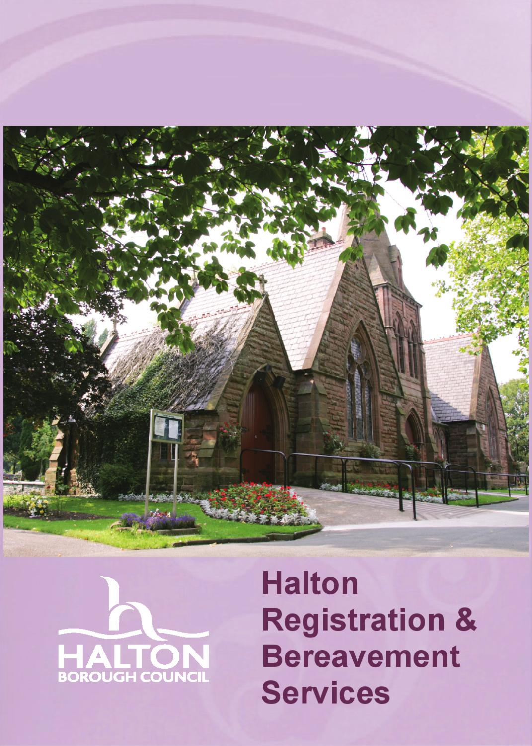 Halton registration and bereavement services by garry grimshaw issuu aiddatafo Choice Image