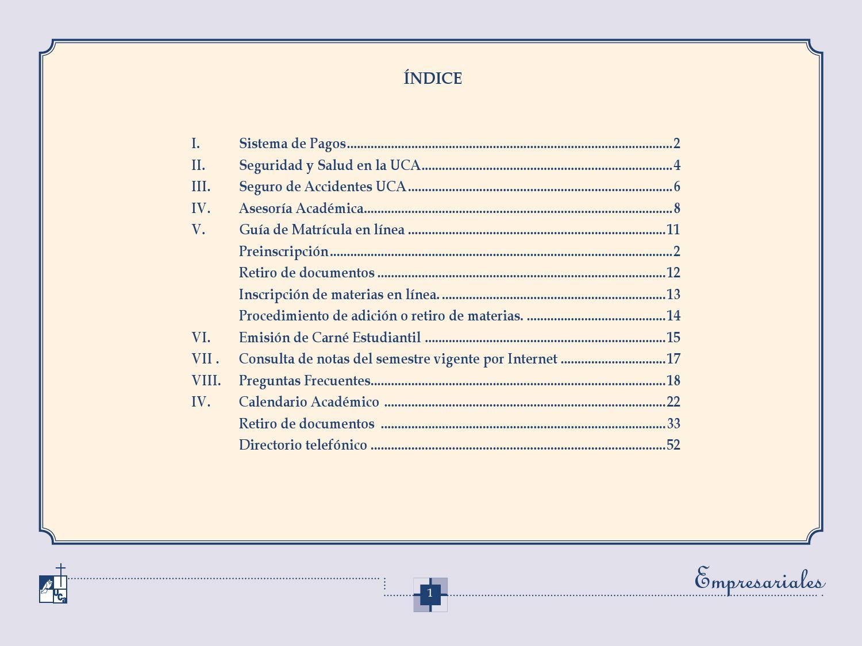Uca Calendario Academico.Instructivo By Henry Cardoza Issuu
