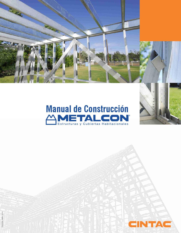 Manual De Construcci N Metalcon By Jose Carcamo Issuu