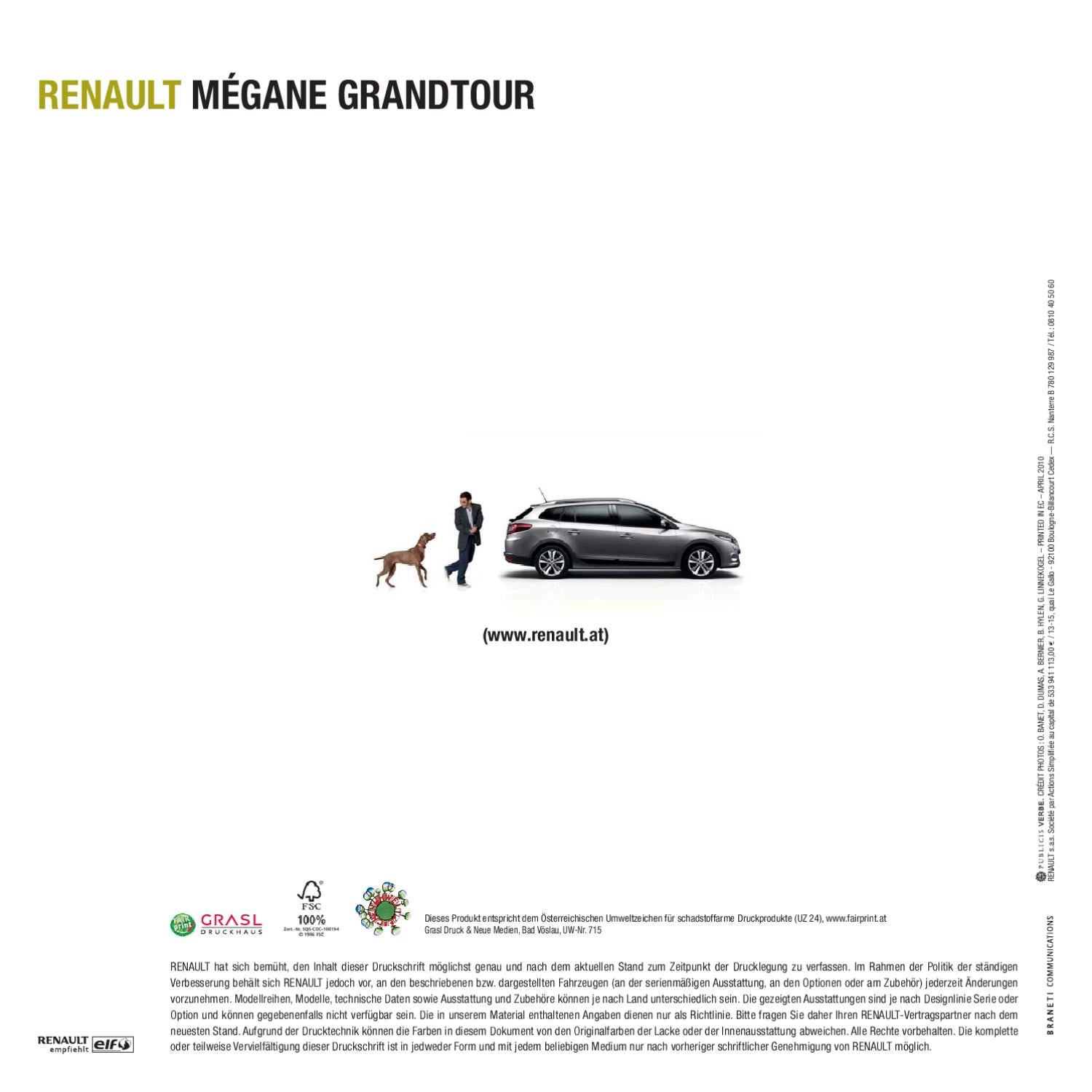 megane grandtour by renault wien issuu. Black Bedroom Furniture Sets. Home Design Ideas