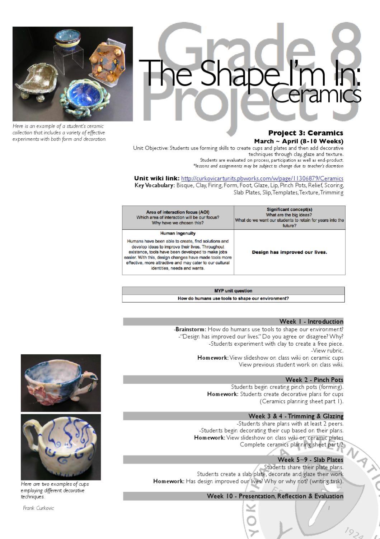 Ms Art Gr8u3 Ceramics By Frank Curkovic Issuu