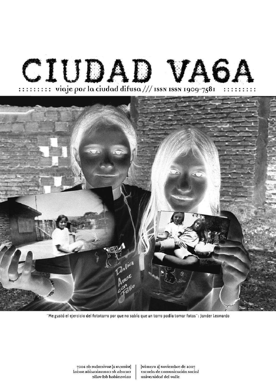 CIUDAD VAGA 2 by Escuela Comunicación Social Periodismo - issuu c5ab9702fe3