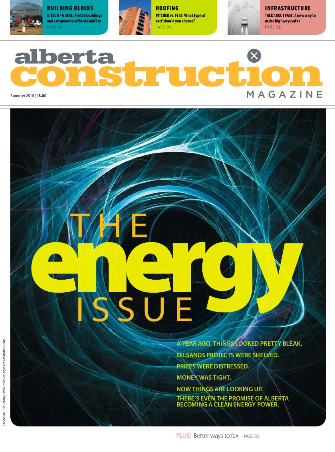 Alberta Construction Magazine Summer 2010 By Jwn Trusted
