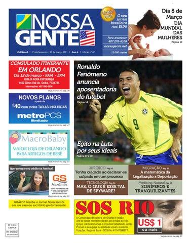 4ad5c6927 Nossa Gente 47 by Nossa Gente - issuu
