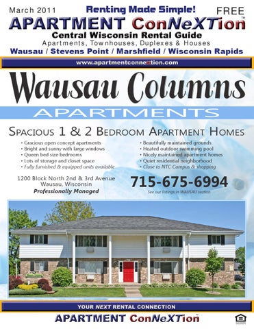 Central Wisconsin Apartment Connextion Rental Guide March 2011 By
