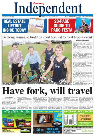 Geelong Independent 18 02 2011 Star News Group Local News Sport Entertainment By Independent Newspaper Geelong Bellarine Torquay Issuu