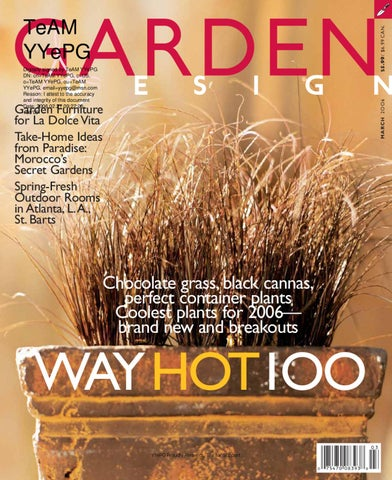 Garden design magazine march 2006 by tropicspace ebooks issuu page 1 fandeluxe Gallery