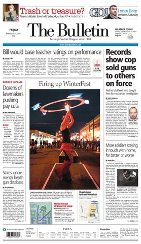 ecff4bef Bulletin Daily Paper 02/18/11 by Western Communications, Inc. - issuu