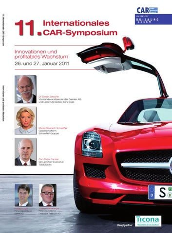 11. Internationales CAR-Symposium - TAGUNGSBAND by Daniel Przygoda ...